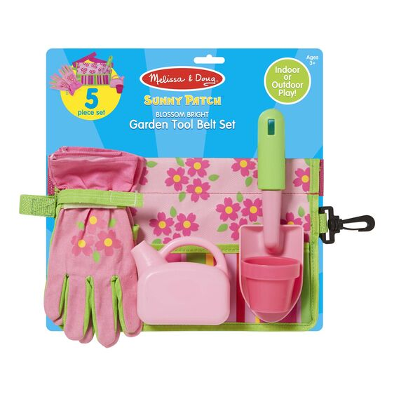 Load image into Gallery viewer, Blossom Bright Garden Tool Belt Set