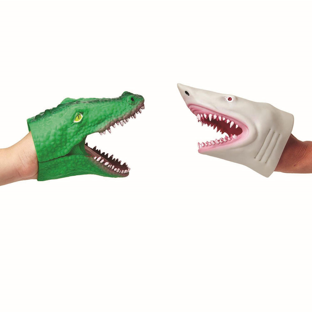 SHARK & ALLIGATOR HAND PUPPET