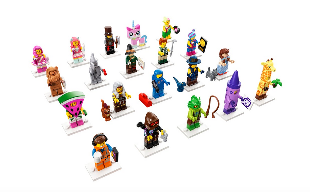Load image into Gallery viewer, Lego Mini Figures - The Lego Movie 2