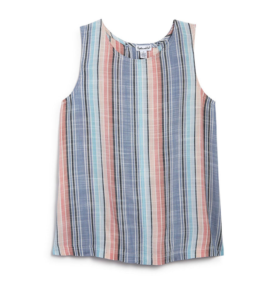 Load image into Gallery viewer, Woven Stripe Tank