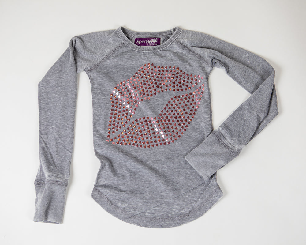 Load image into Gallery viewer, Heart Lips Tee