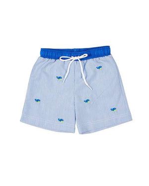 Cord Swim Trunk with Whale