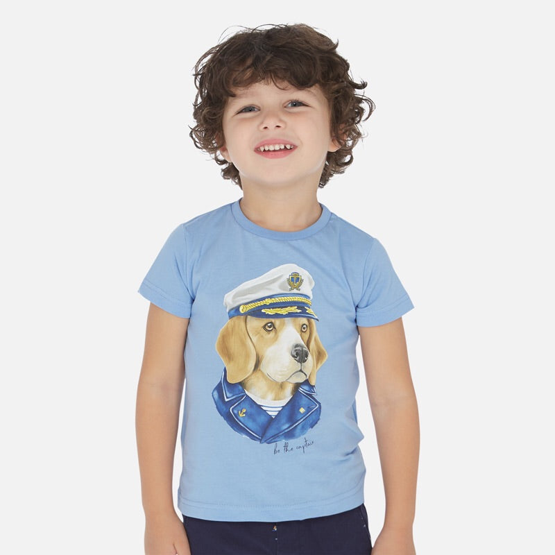 Captain Short Sleeve T-Shirt