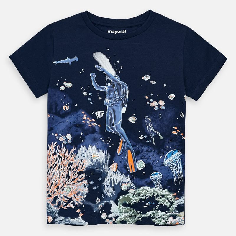 Glow In The Dark Scuba Shirt