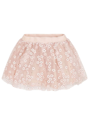 Tulle Flower Skirt