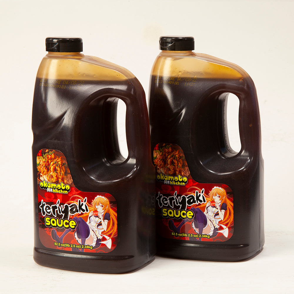 Okamoto Kitchen Teriyaki Sauce (Twin Pack)