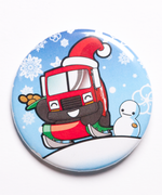 Umechan Santa Button