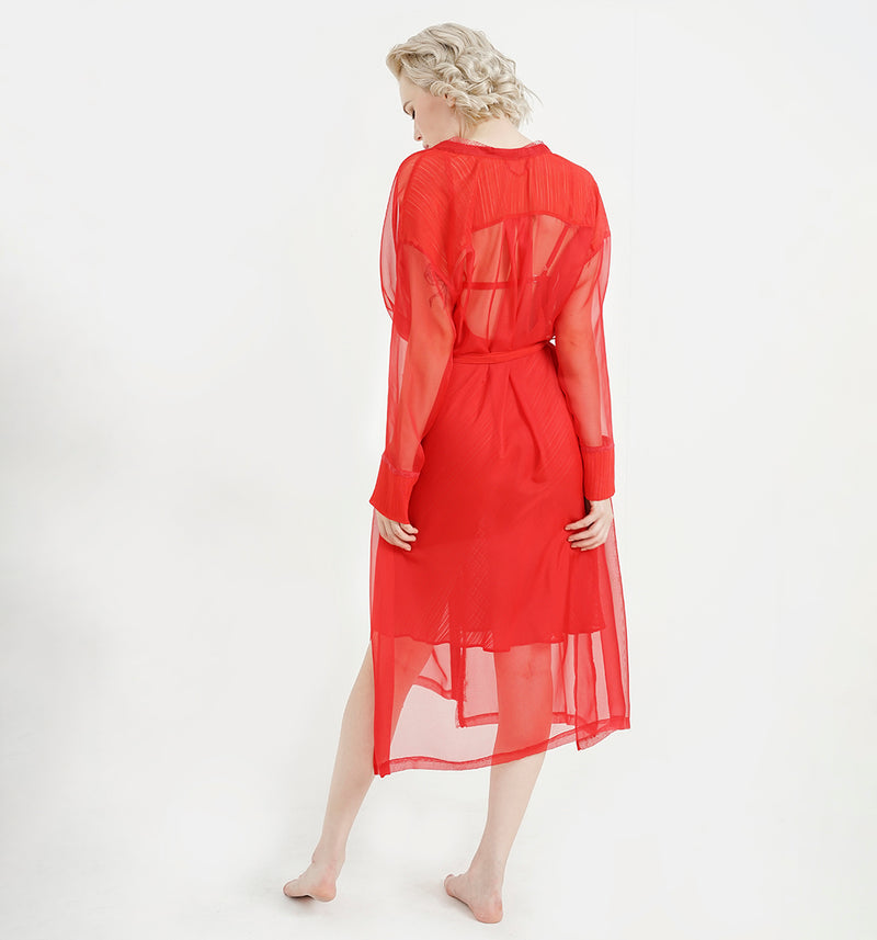 06- Queen gown (Red) Z0619HOM03