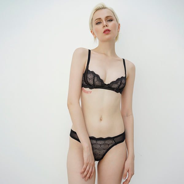 05- Graphic bra (Black) Z0519BRA05
