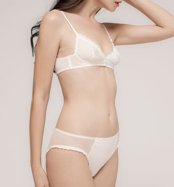 03 Tiny flower panty (White) 03UNDLA02