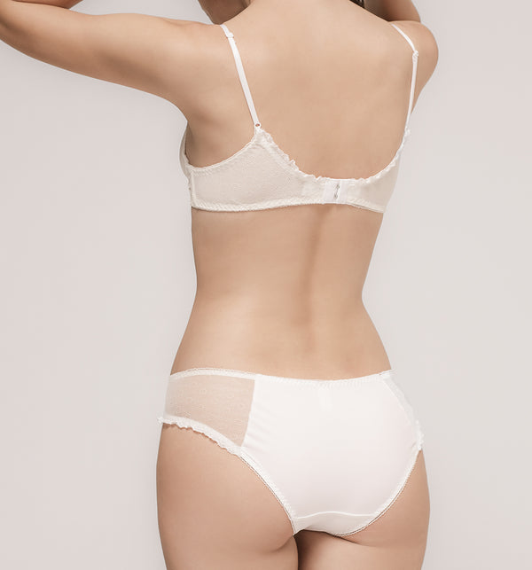 03 Tiny flower panty (White) 03BRALA02