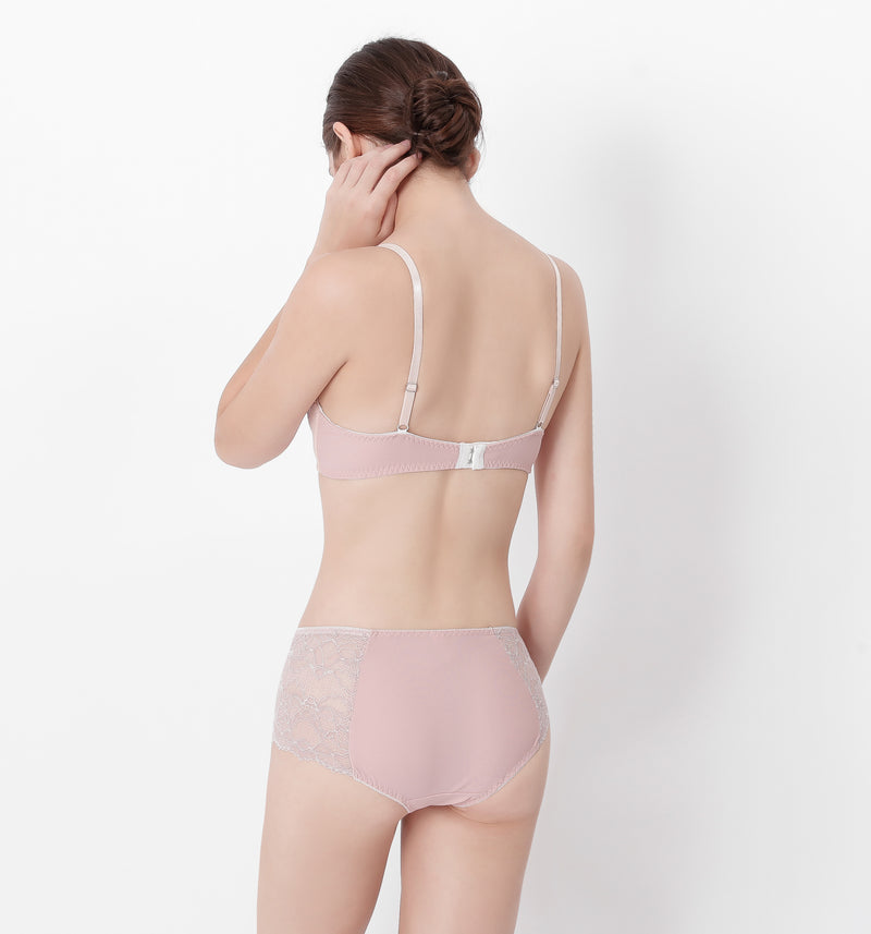 04 All-over lace panty (Pastel pink) 04UNDLA13