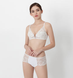 04 All-over lace bra (White) 04BRALA13