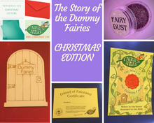 Load image into Gallery viewer, The Story of the Dummy Fairies Package - CHRISTMAS EDITION