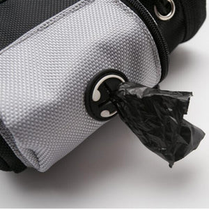 Dog Treat & Training Pouch With Built-In Poop Bag Dispenser