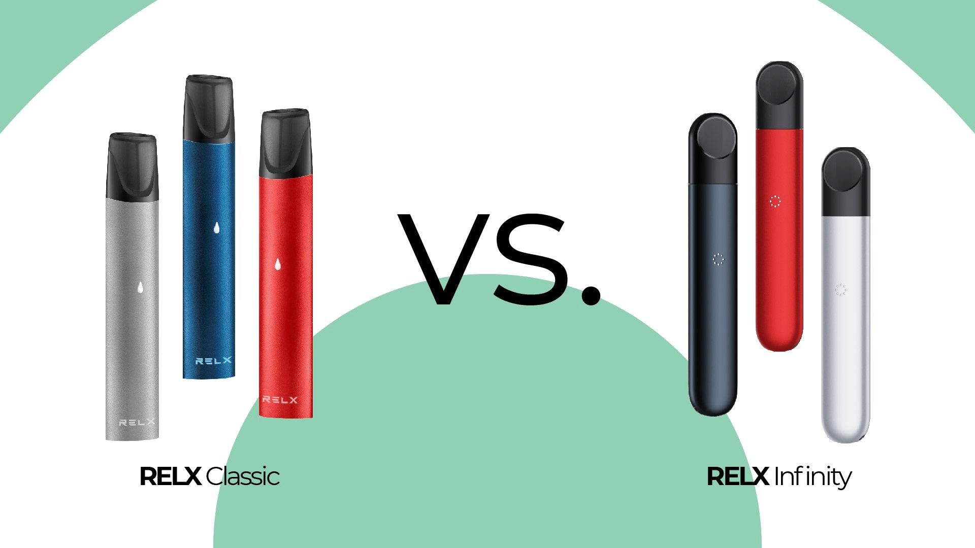 RELX Classic vs. RELX Infinity: Which Should You Choose?