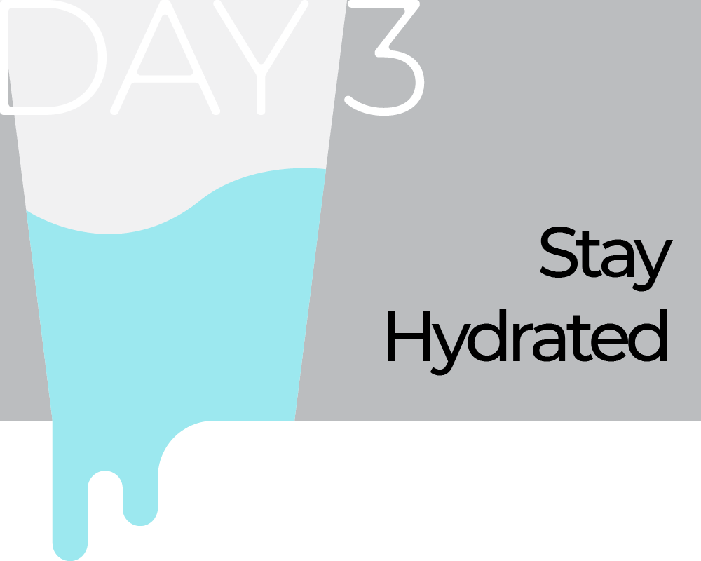 Day 3: Stay Hydrated