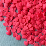 Hot Pink Love Hearts