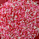 Pink, Red + White Mini Love Hearts