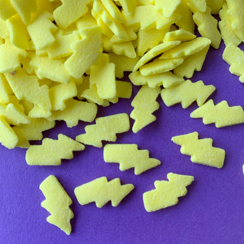 Lightning Bolt Confetti Shapes