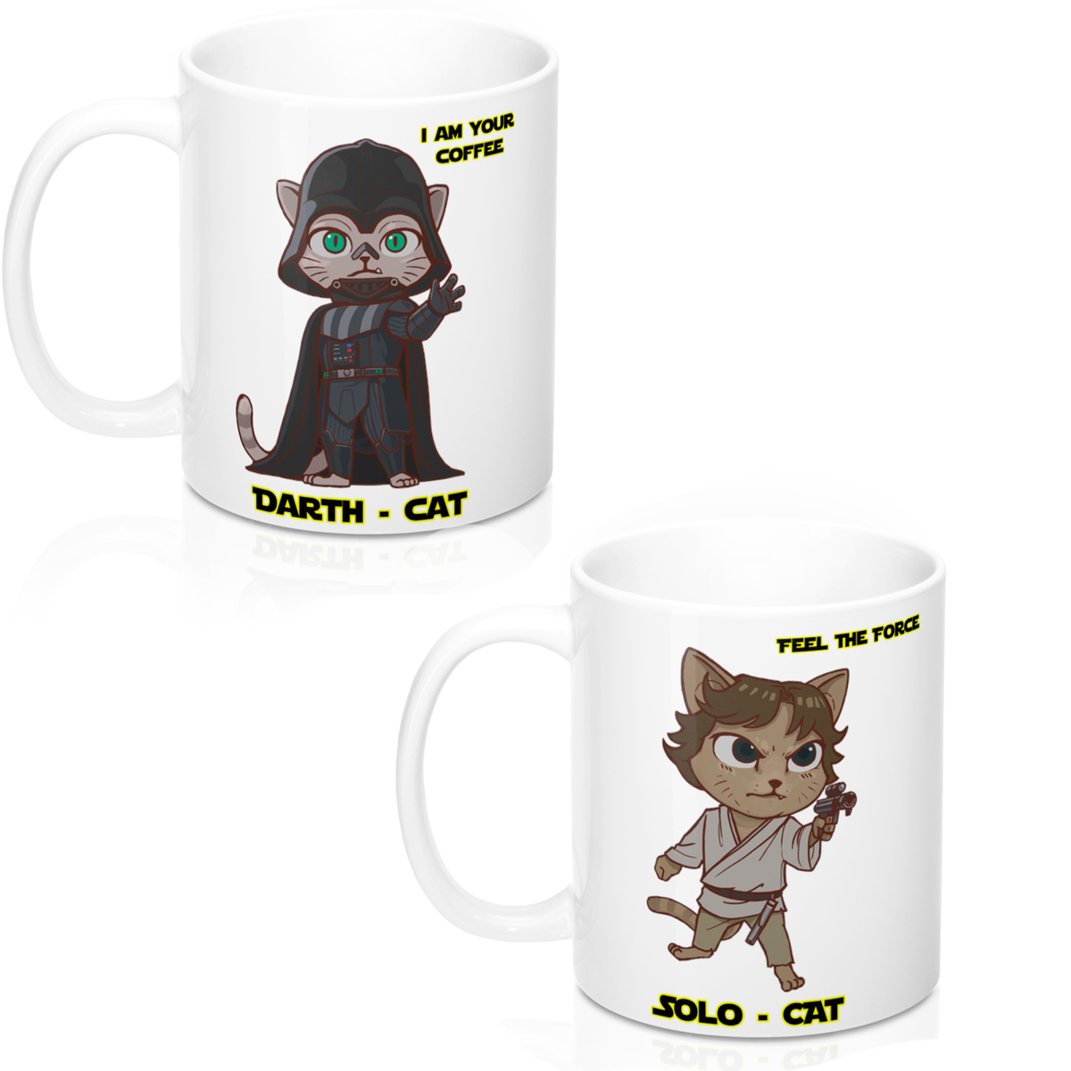 DARTH CAT MUG - CAT WARS
