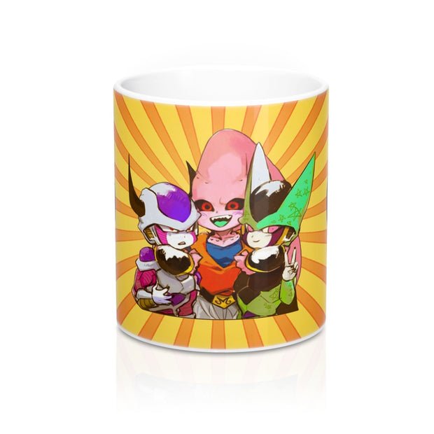 Freezer Cell Majin buu Mug