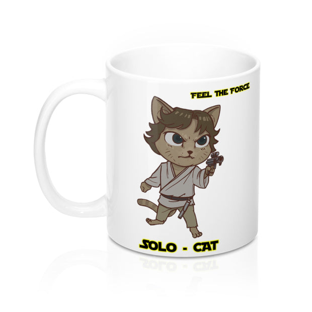 SOLO CAT MUG - CAT WARS
