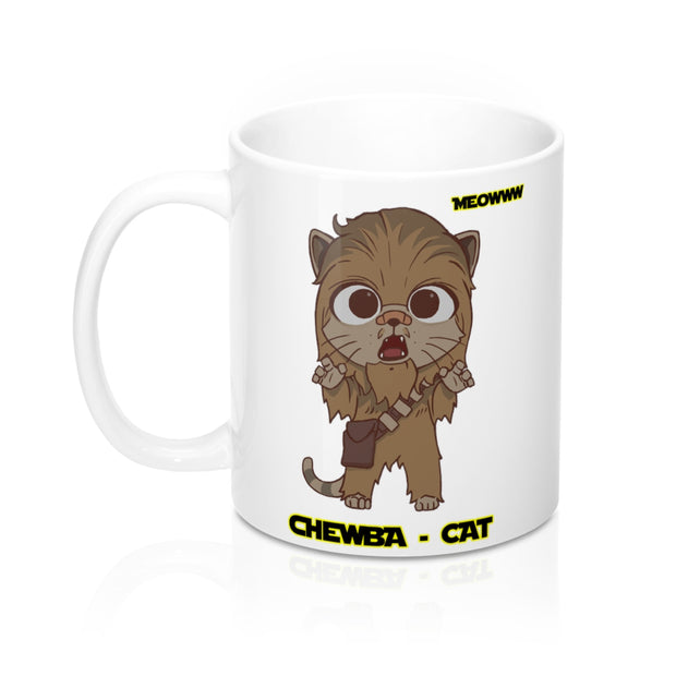 CHEWBA CAT MUG - CAT WARS
