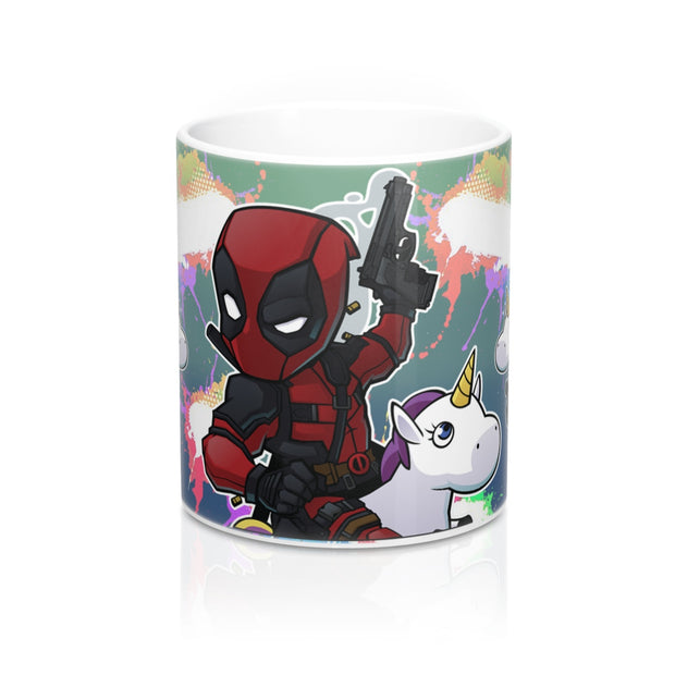 Deadpool Unicorn Mug