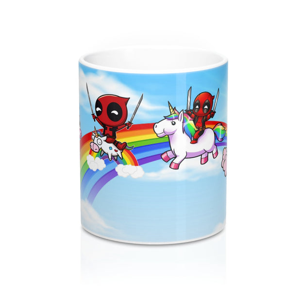 Deadpool and its unicorns Mug