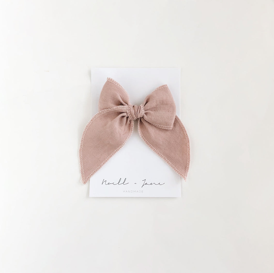 Sailor bow - dusty lavender