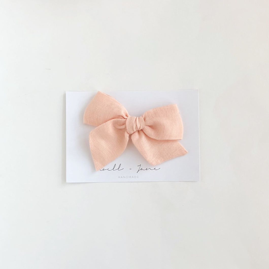 Large pinwheel - Peach