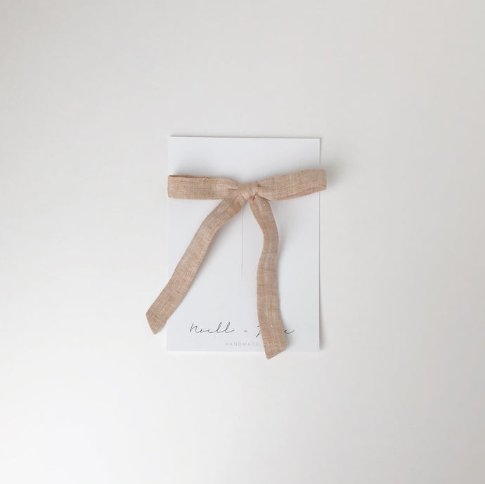 thin ribbon - fawn