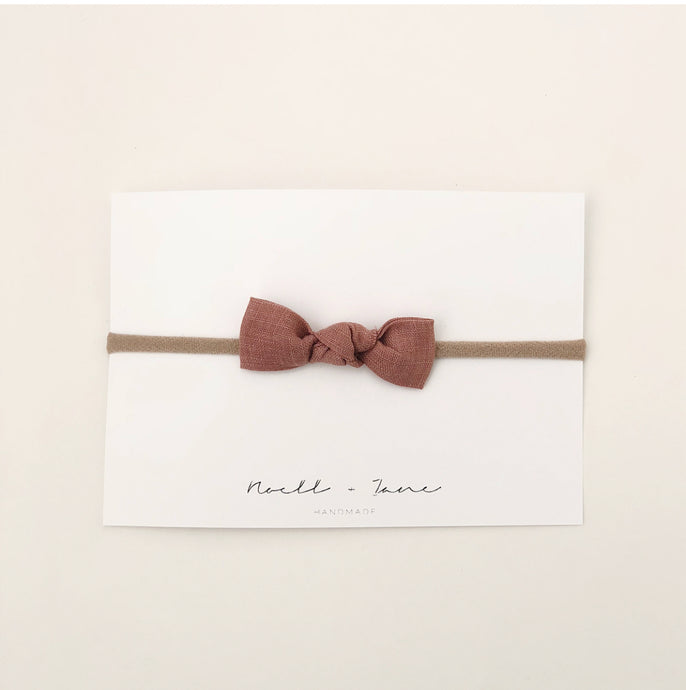 knot bow // summer collection // desert rose