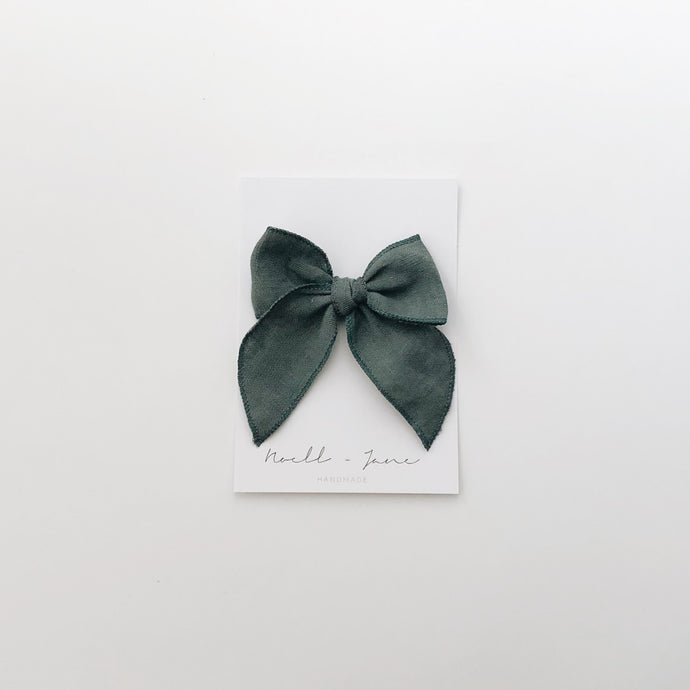 Sailor bow - juniper