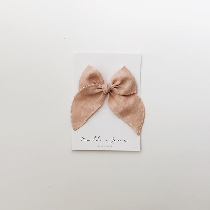 Sailor bow - blush