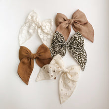 Sailor bow - Cream