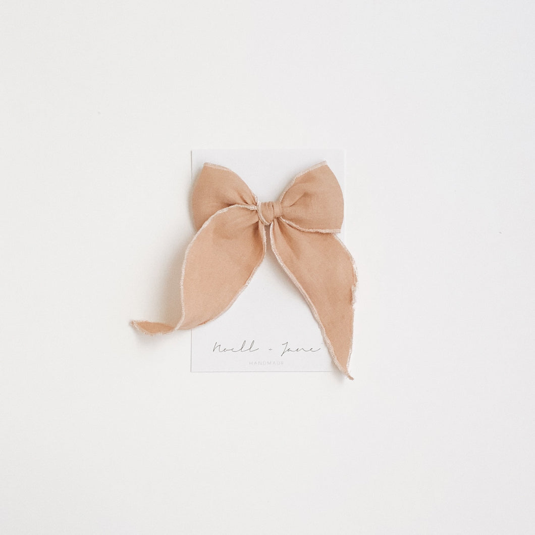 Sailor bow - dulce de leche