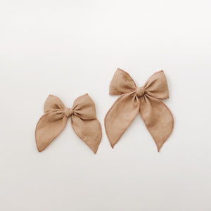Sailor bow - golden mustard