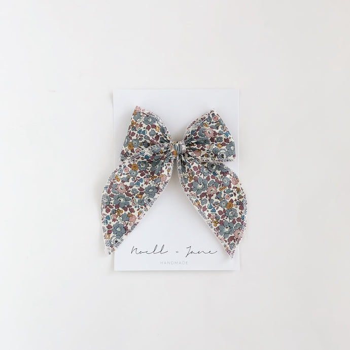 Sailor bow - Berry floral