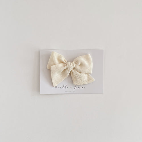 large pinwheel - cream gauze