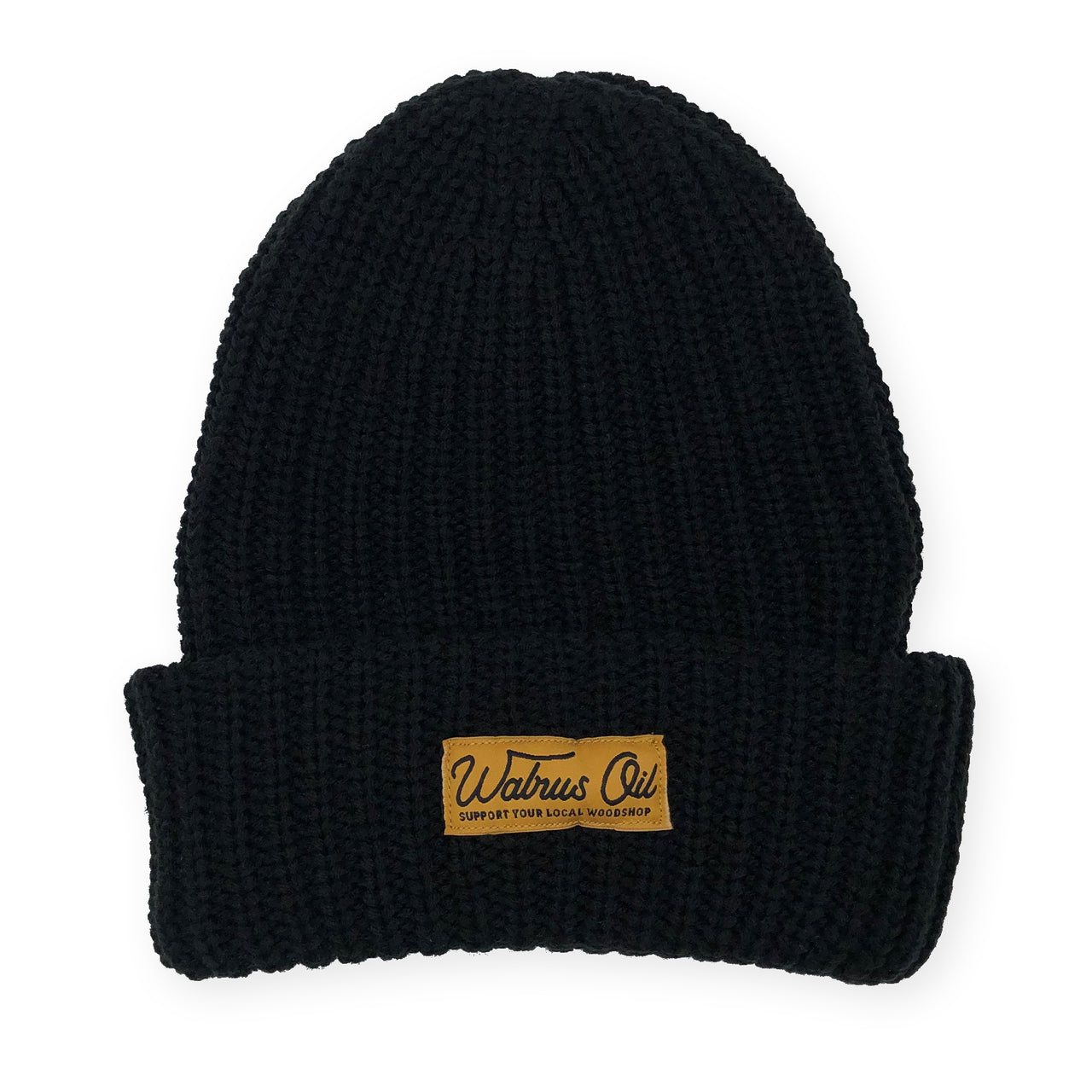 Support Your Local Woodshop, Knit Beanie