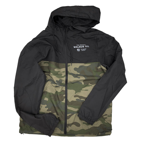 Walrus Oil Windbreaker Jacket