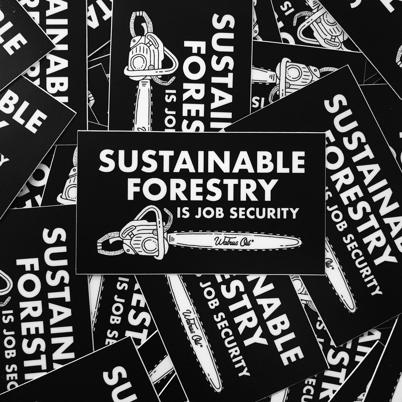 Sustainable Forestry, Sticker Pack