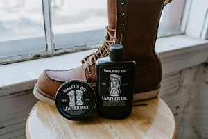 Leather Oil and Leather Wax, Bundle