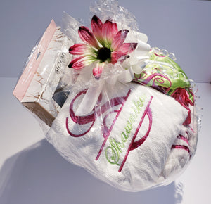 The Ultimate Personalized Embroidered Bonnet Gift Set