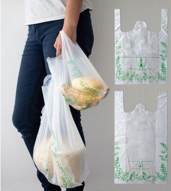 Bolsas Biodegradables Tipo Camiseta