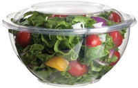 Ensaladera 32oz con tapa - 100% biodegradable