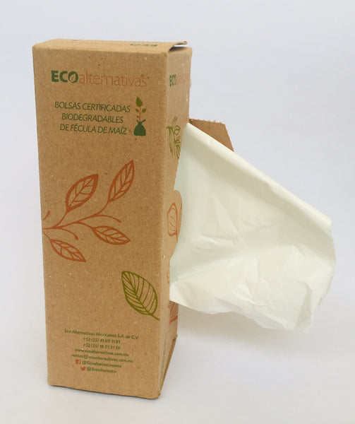 Bolsas Compostables y Biodegradables para Basura Medianas