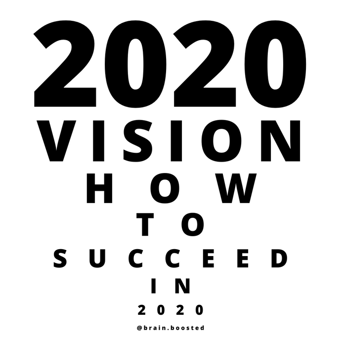 20 tips on how to succeed in 2020